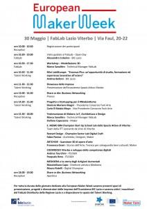 INCUBATORE DI RIETI 10 NOVEMBRE ORE 15-18